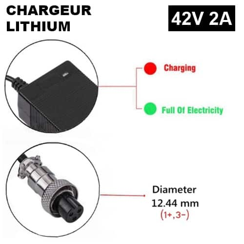 chargeur 29V GX16
