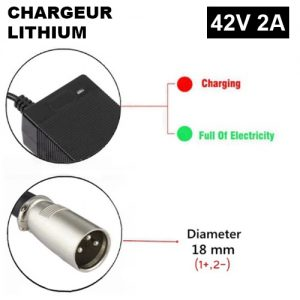 chargeur 29V XLR